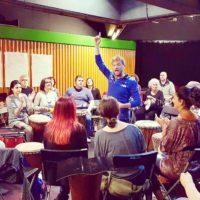 drum circle team building
