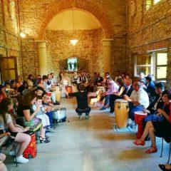 drum circle wedding
