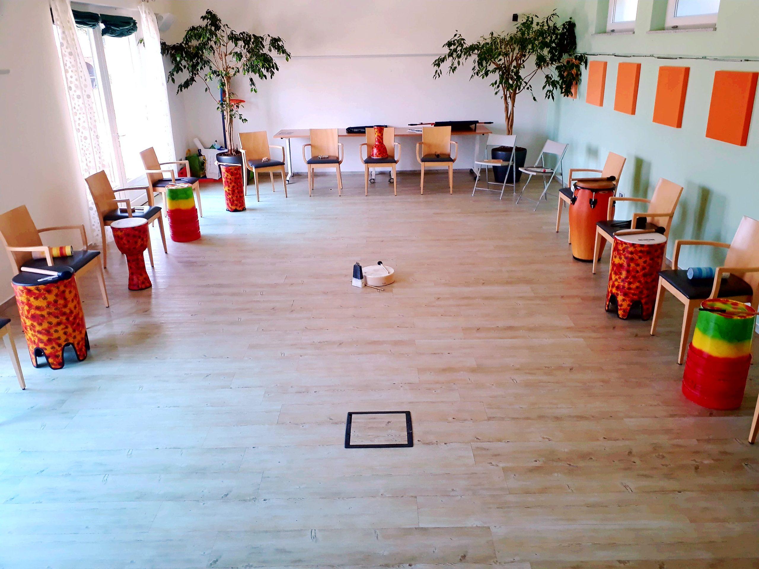 Drum circle – Strumenti a percussione e postazioni team building