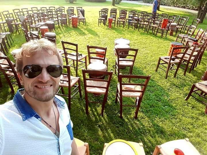 Drum circle - Matrimonio nel parco